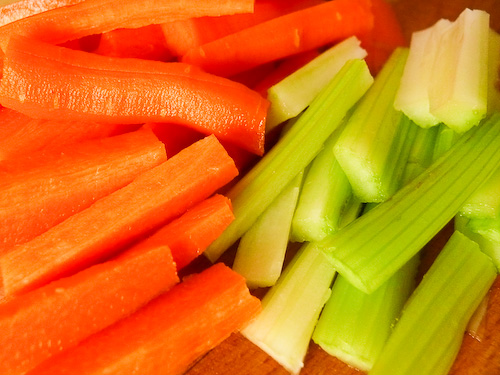 Моркови и селъри