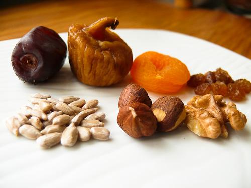 Използваните от мен плодове и ядки
