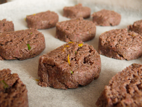 Бисквитите, преди да се опекат