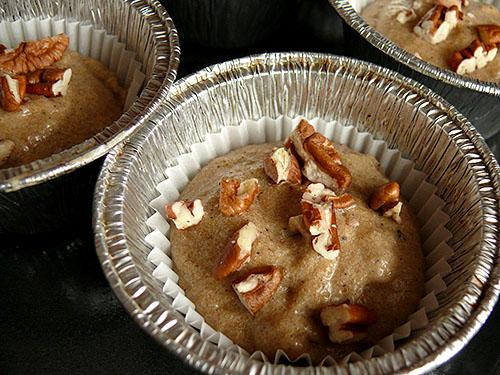 Ябълкови мъфини с орехи