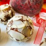 Бадемови бонбони с шоколад