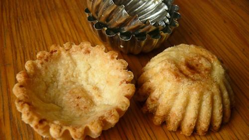 Кошнички от ронливо маслено тесто