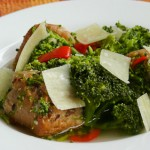 Италианска супа с хляб и броколи