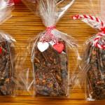 Овесени блокчета с орехи и сушени боровинки