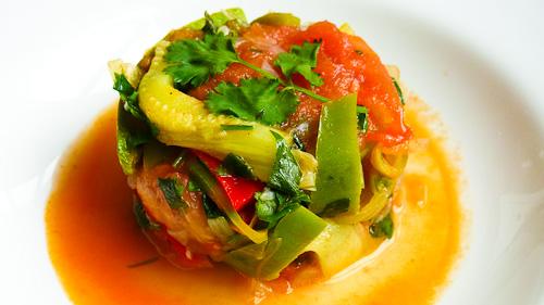 Топла мароканска салата