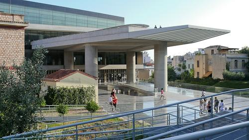 Новооткрития музей на Акропола
