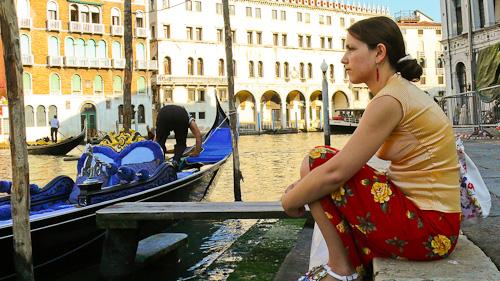 На кея във Венеция
