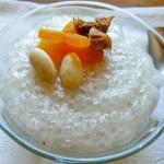 Пудинг от тапиока с кокосово мляко и сладки аромати