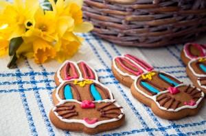 Великденски медено-ръжени зайци