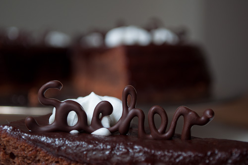 SOS – Торта Захер