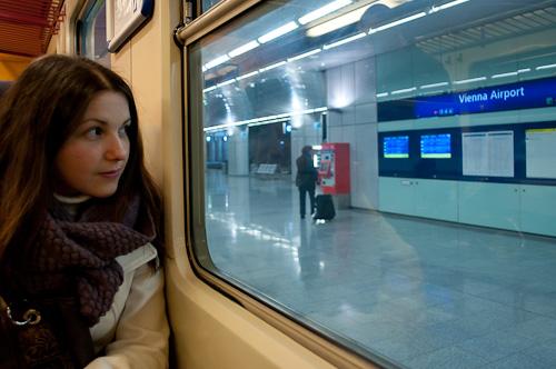 На летището във Виена