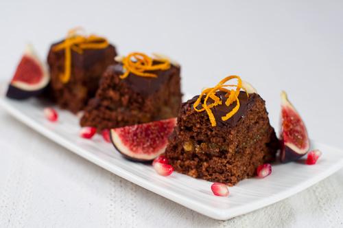 Шоколадови кексчета с джинджифил и портокалово сладко