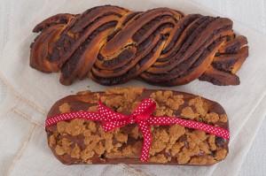 Еврейска Бабка с шоколад - два вида