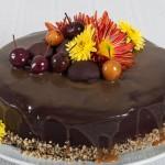 Шоколадово-ореховa торта с кестенов крем и карамел