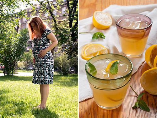 Бременната Йоана и чаена лимонада