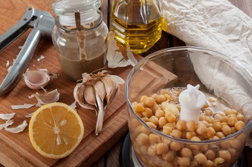 Пприготвените продукти за хумуса