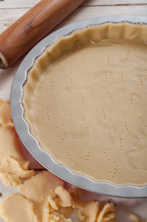 Подготовка на тестото за основата на тарта