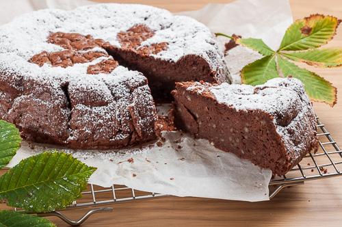 Шоколадов сладкиш с кестени, без глутен
