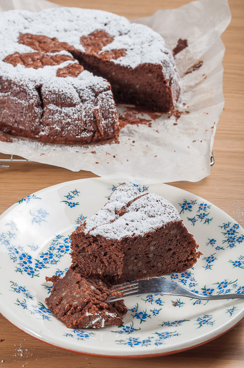 Шоколадов сладкиш с кестени, без брашно