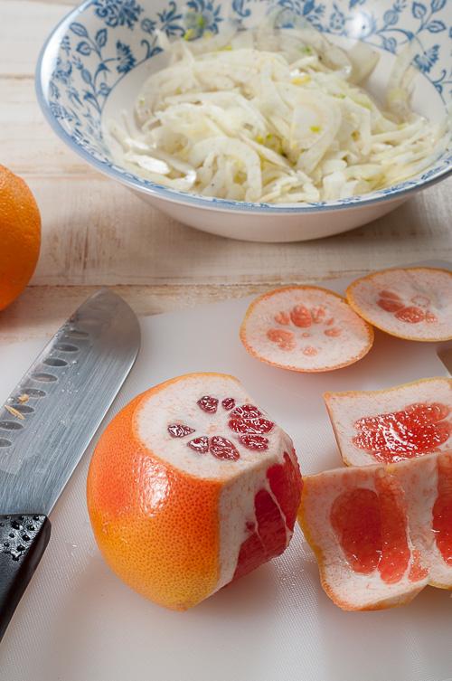 Изрязване на корите на цитрусите