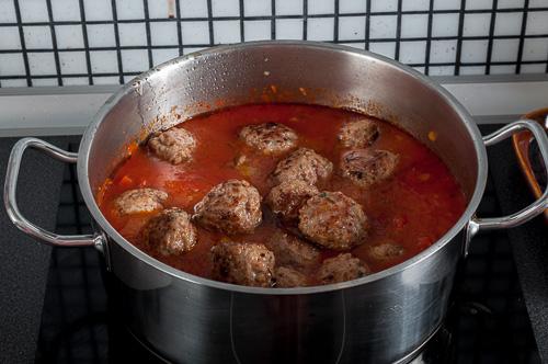 При соса се добавят кюфтенцата