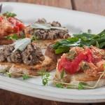 Три вида тоскански кростини