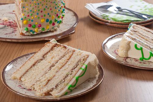 Тортата за първия рожден ден на Даниел