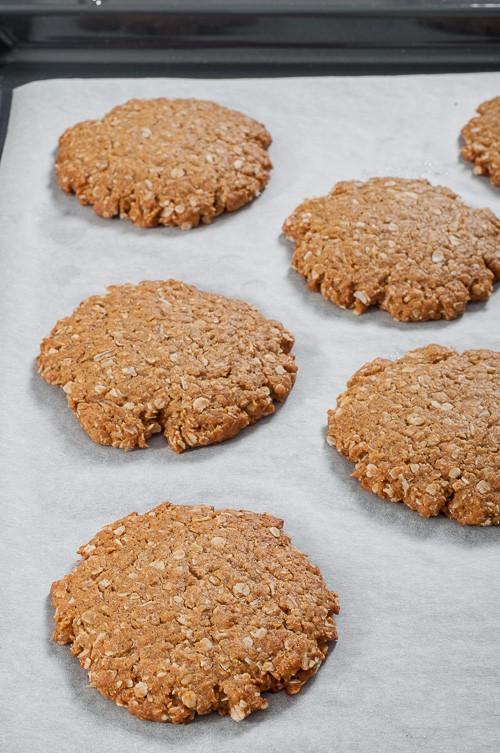 Изпечените бисквити