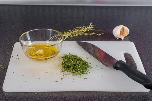 Приготвяне на билковата смес