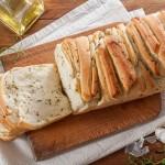 Лесен за разчупване хляб със зехтин, билки и чесън + съобщение