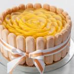 Шарлота с поширани круши в шафран или тортата за втория рожден ден на Даниел