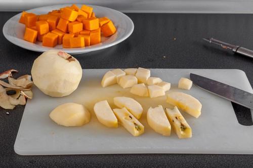 Подготовка на ябълките