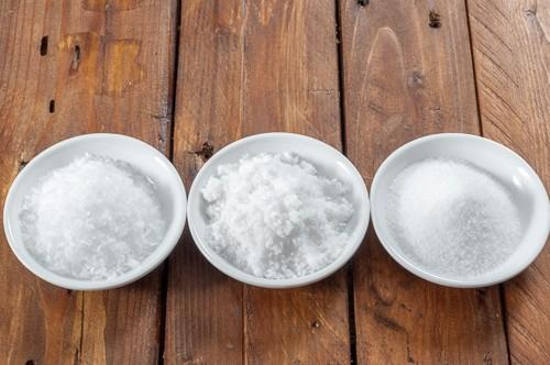 3 различни вида сол