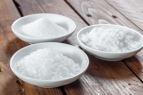 На преден план - малдонска сол