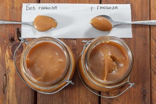 Карамелен сос със и без глюкоза