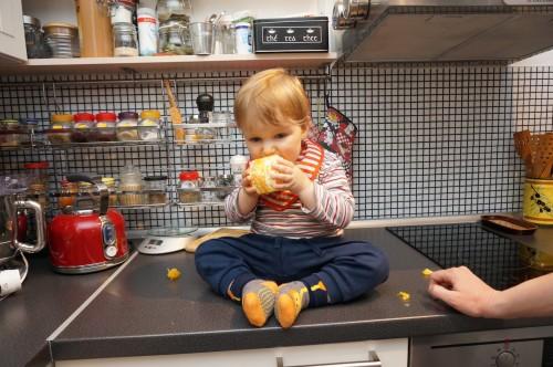 Даниел яде портокал