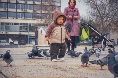 В Пловдив с Дани, 2015