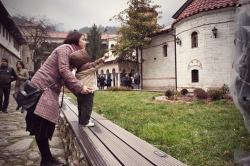 В Бачковки манастир с Дани, 2015