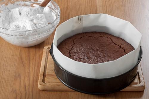 Полу-изпеченият кейк