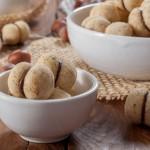 Baci di Dama – италиански сладки с лешници и шоколад