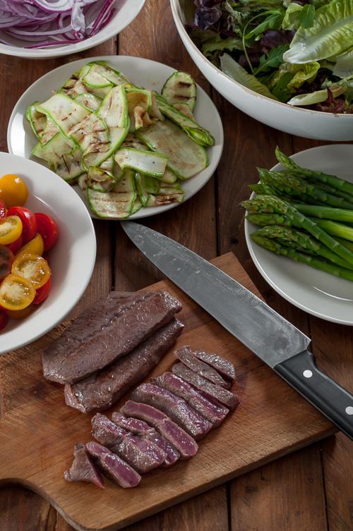 Приготвените компоненти за ястието
