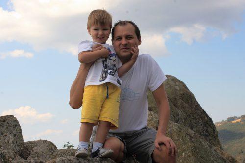 Вальо и Даниел в Копривщица