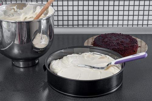 Сглобяване на тортата