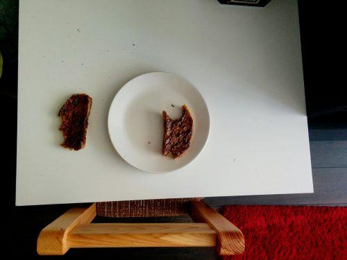 Пържени филийки с шоколад