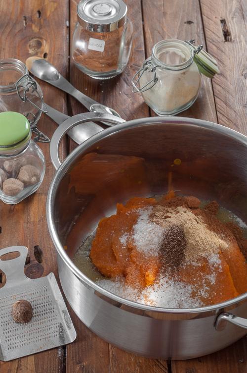 Приготвяне на тиквеното пюре