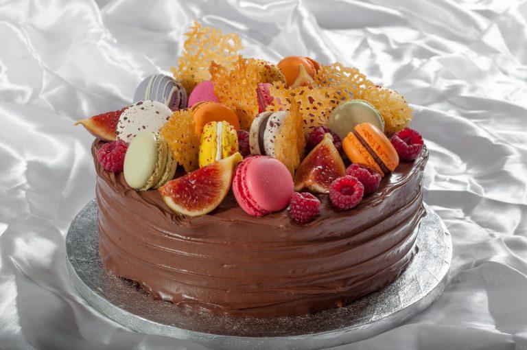 """""""Шарена торта от шоколад"""" или тортата за четвъртия рожден ден на Даниел"""