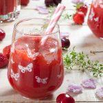 My summer wine или просеко с ягоди, череши и рози