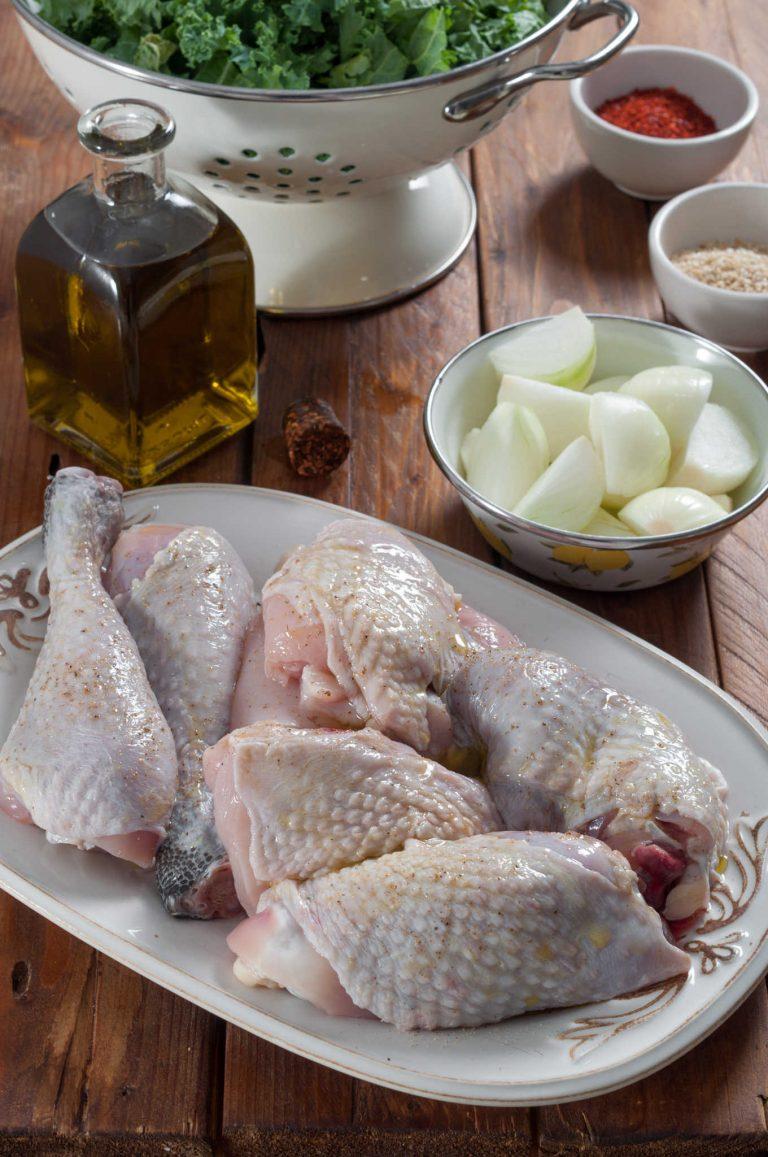 Подготовка на пилето за пържене