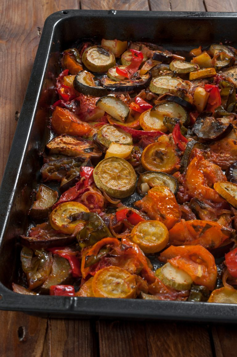 Печени есенни зеленчуци