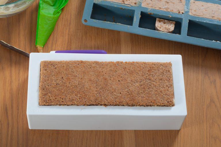 Поставяне на ореховата платка